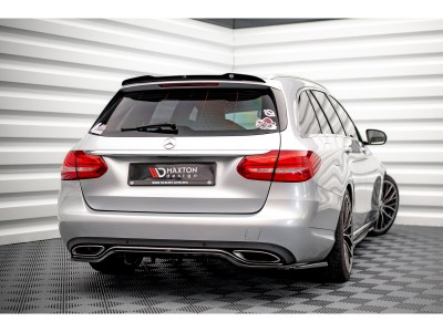 Mercedes C-Class W205 Monor Rear Wing Extension