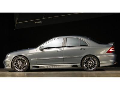 Mercedes C-Klasse W203 Vortex Seitenschwellern