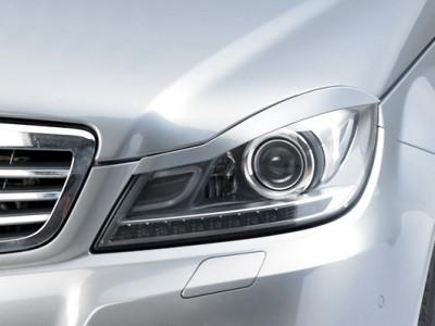 Mercedes C-Klasse W204 CX Scheinwerferblenden