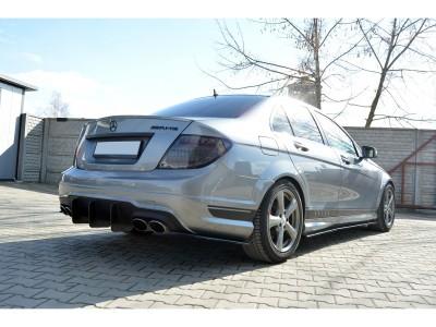 Mercedes C-Klasse W204 MX Heckansatz