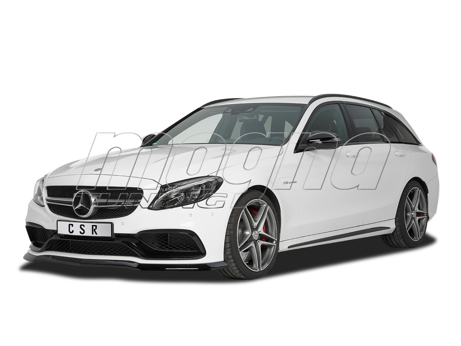 mercedes c klasse w205 c63 amg cx frontansatz. Black Bedroom Furniture Sets. Home Design Ideas