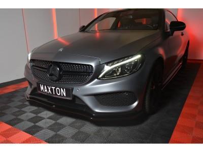 Mercedes C-Klasse W205 MaxLine Frontansatz
