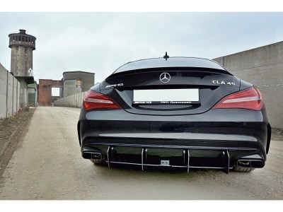 Mercedes CLA C117 45 AMG DTM Rear Bumper Extension