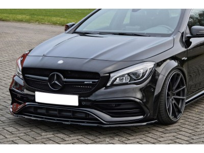Mercedes CLA C117 45 AMG Isota Front Bumper Extension