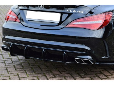 Mercedes CLA C117 45 AMG Isota Rear Bumper Extension