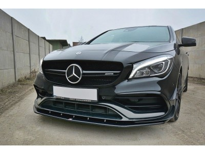 Mercedes CLA C117 45 AMG MX Front Bumper Extension