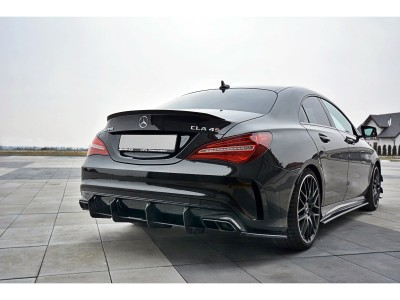 Mercedes CLA C117 45 AMG MX Rear Bumper Extension