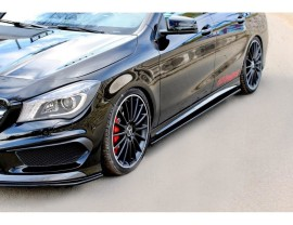 Mercedes CLA C117 45 AMG Master Side Skirt Extensions