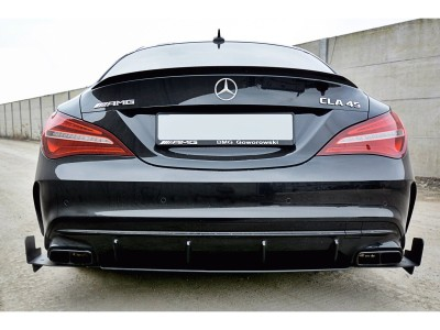 Mercedes CLA C117 45 AMG Racer Rear Bumper Extension