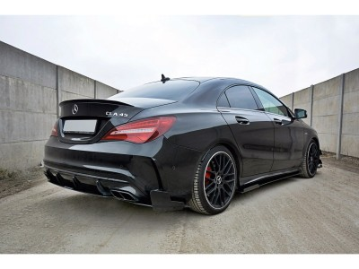 Mercedes CLA C117 45 AMG Racer Side Skirts
