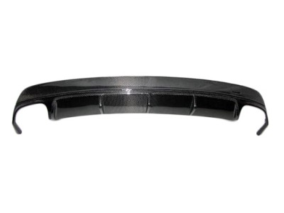 Mercedes CLA C117 AMG-Style Carbon Fiber Rear Bumper Extension