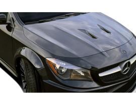 Mercedes CLA C117 Black-Series Carbon Fiber Hood