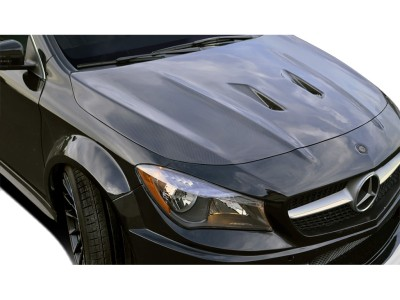 Mercedes CLA C117 Black-Series Carbon Fiber Hood