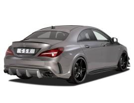 Mercedes CLA C117 CX Rear Bumper Extension