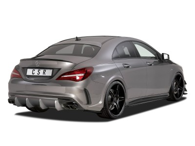 Mercedes CLA C117 CX Side Skirt Extensions