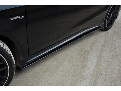 Mercedes CLA C117 MX Side Skirt Extensions