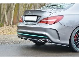 Mercedes CLA C117 Matrix Rear Bumper Extension