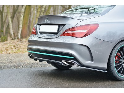 Mercedes CLA C117 Matrix Rear Bumper Extension