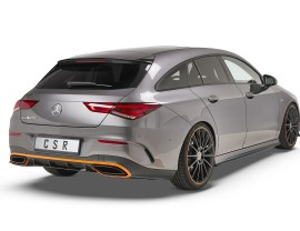Mercedes CLA X118 Crono Rear Bumper Extension