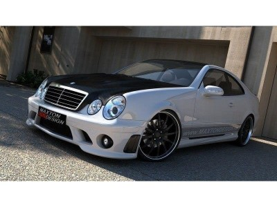 Mercedes CLK W208 AMG-Style Side Skirts