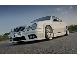 Mercedes CLK W208 Exclusive Wide Body Kit