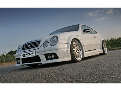 Mercedes CLK W208 Exclusive Wide Body Kit