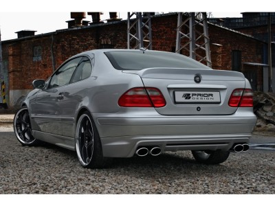 Mercedes CLK W208 PR Rear Bumper Extension