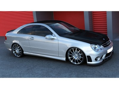 Mercedes CLK W209 AMG-Look Side Skirts