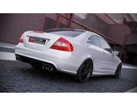 Mercedes CLK W209 Bara Spate Black-Series-Look