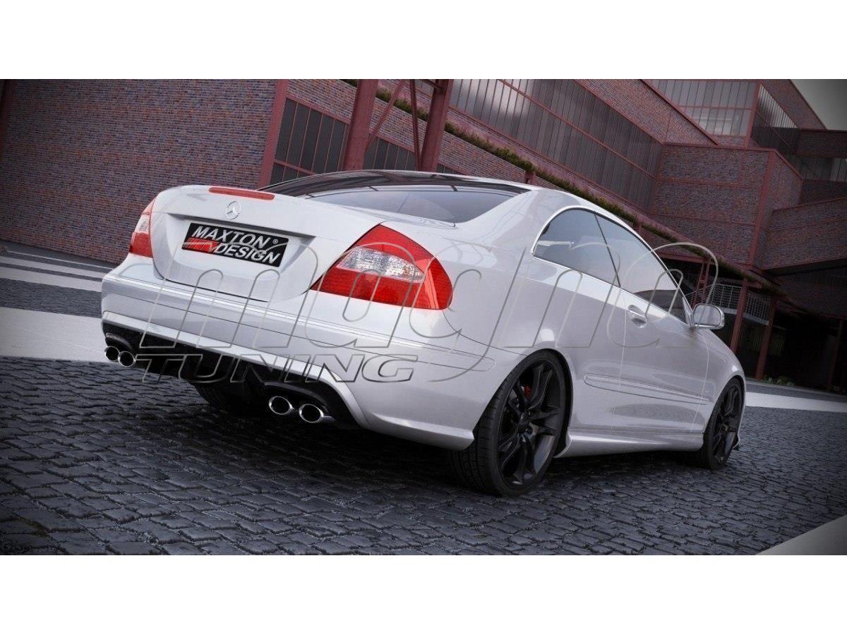 Mercedes CLK W209 Black-Series-Look Rear Bumper