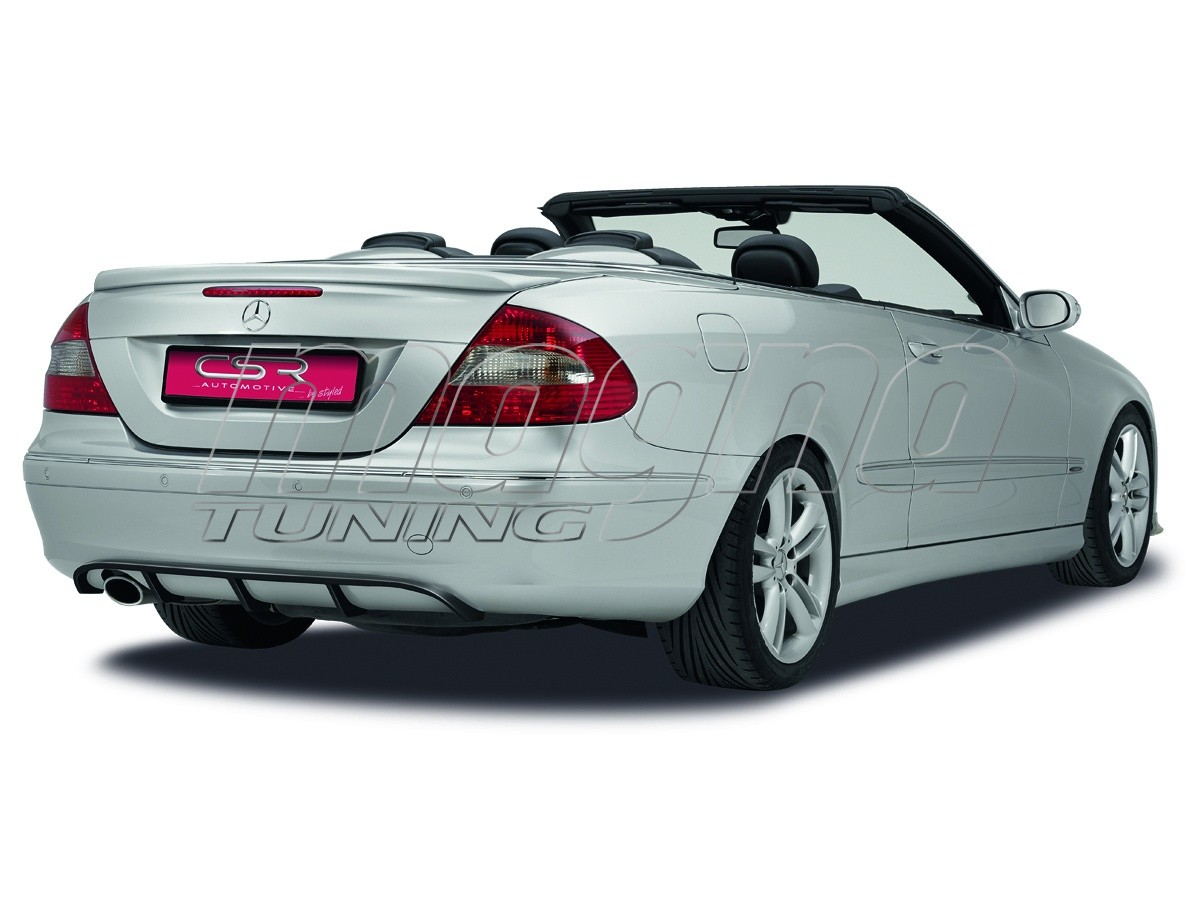 mercedes clk w209 crono rear wing. Black Bedroom Furniture Sets. Home Design Ideas