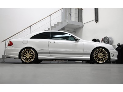 Mercedes CLK W209 Exclusive Side Skirts