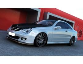 Mercedes CLK W209 Facelift MX2 Front Bumper Extension