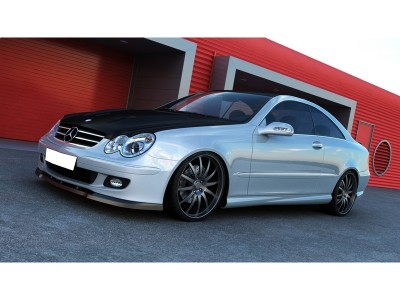 Mercedes CLK W209 Facelift MX2 Front Bumper Extension