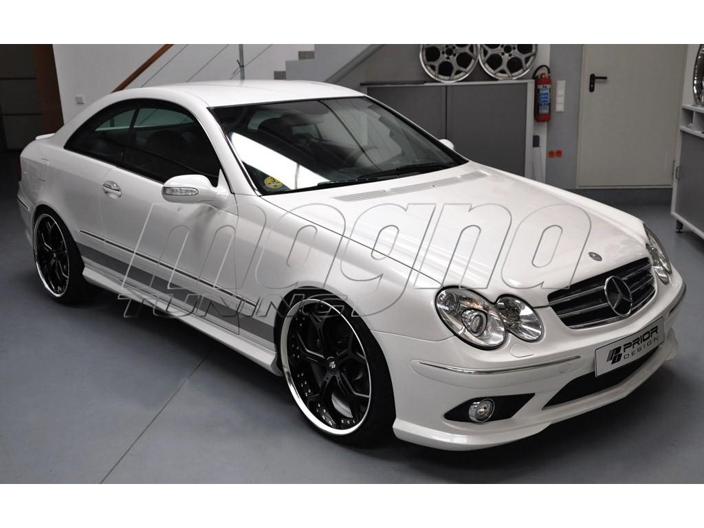 Mercedes clk w209 pr body kit for Mercedes benz clk body kit
