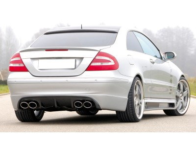 Mercedes CLK W209 R2 Window Spoiler