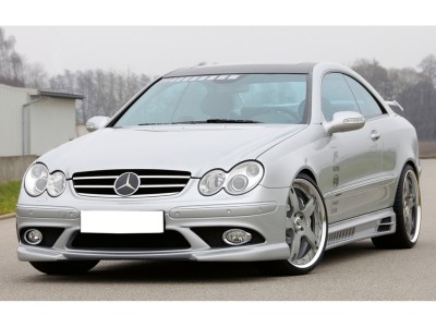 Mercedes CLK W209 Recto Side Skirts