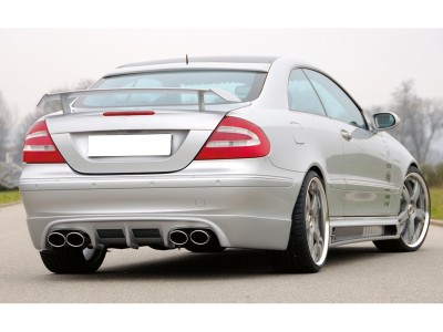 Mercedes CLK W209 Recto-X Rear Bumper Extension