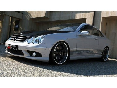 Mercedes CLK W209 W209-AMG-Look Frontstossstange