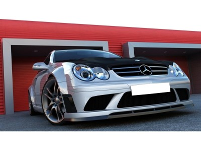 Mercedes CLK W209 Wide Body Kit Black-Series-Look