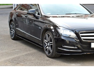 Mercedes CLS 218 Meteor Side Skirt Extensions