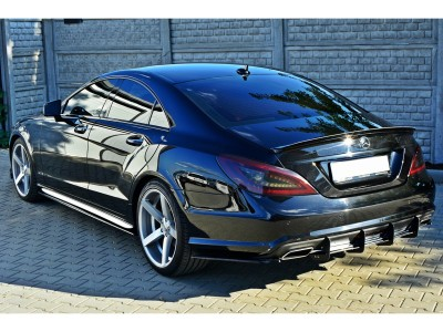 Mercedes CLS 218 RaceLine Rear Bumper Extension