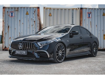 Mercedes CLS C257 MX Side Skirt Extensions