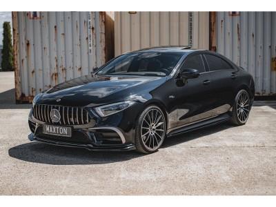Mercedes CLS C257 MX3 Front Bumper Extension