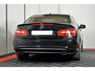 Mercedes E-Class C207 Matrix Rear Bumper Extensions