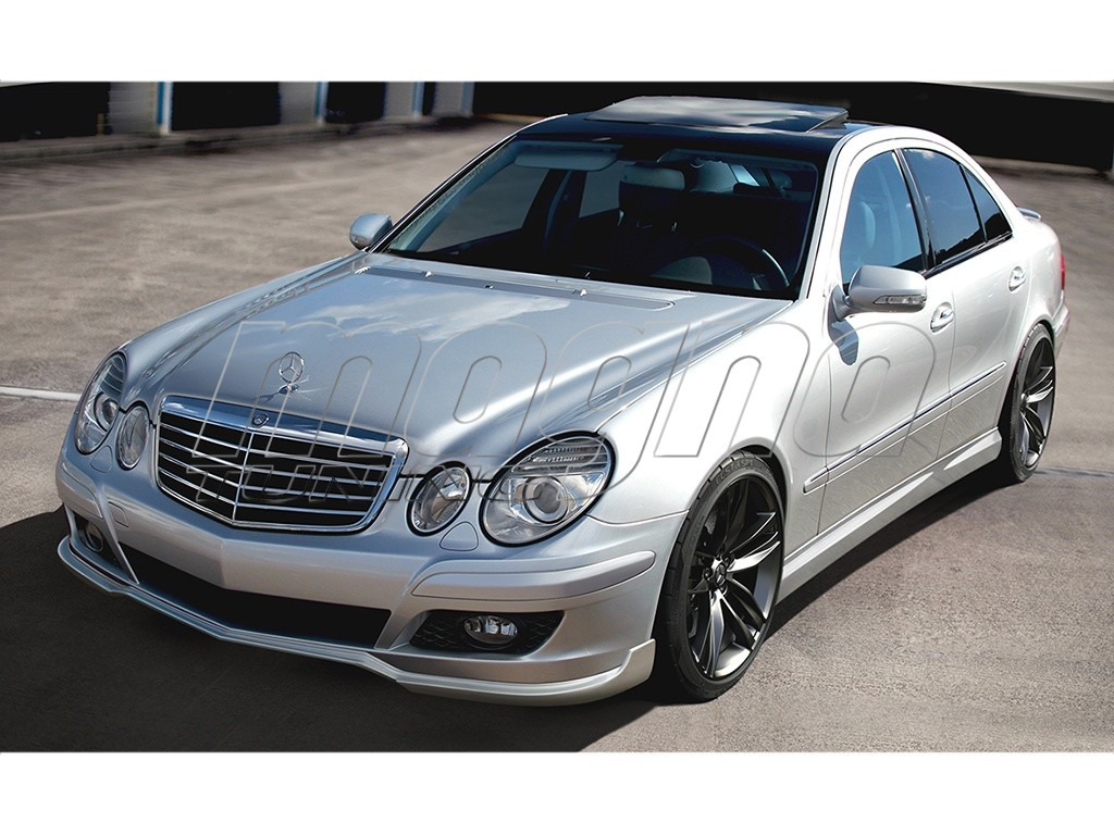 mercedes e class w211 facelift sector body kit. Black Bedroom Furniture Sets. Home Design Ideas