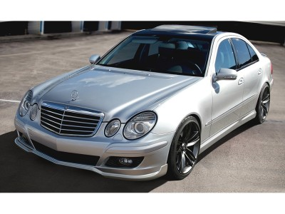Mercedes E-Class W211 Facelift Sector Front Bumper Extension