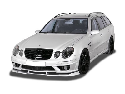 Mercedes E-Class W211 Facelift V2 Front Bumper Extension