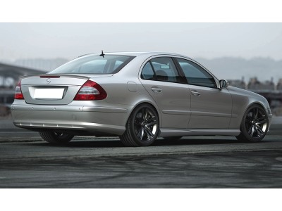 Mercedes E-Class W211 Sector Rear Bumper Extension