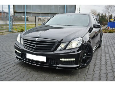 Mercedes E-Class W212 E63 AMG MX Front Bumper Extension